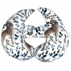 Oops - Coussin de tête EVO - Collection Pastel - Loup