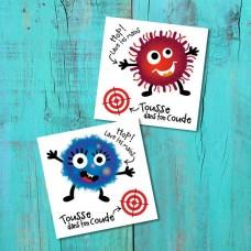 Pico Tatoo - Tatouage pour enfants - La Récréation - L'attaque de microbes