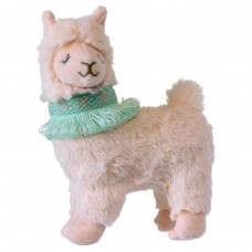 "Mary Meyer - Collection Lexi Lama - Peluche 6"" collette turquoise"