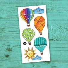 Pico Tatoo - Tatouage pour enfants - Voyage en montgolfière