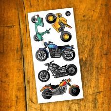 Pico Tatoo - Tatouage pour enfants - Amour de la moto