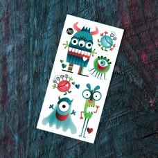 Pico Tatoo - Tatouage pour enfants - Les monstres