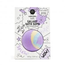 Nailmatic - Bombe de bain colorante et apaisante pour enfants - Pulsar