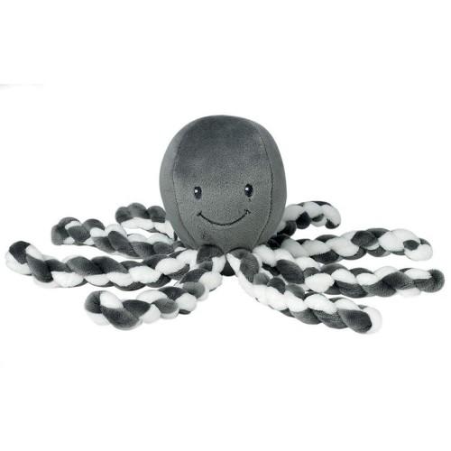 Nattou - Jouet d'éveil - Pieuvre grise