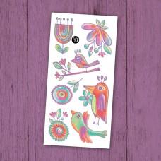 Pico Tatoo - Tatouage pour enfants - Les merveilleux oiseaux