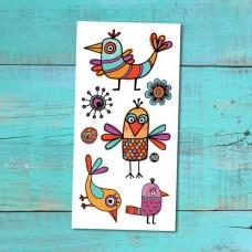 Pico Tatoo - Tatouage pour enfants - Les rigolos oiseaux