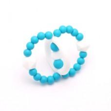 Bulle Bijouterie - Jouet de dentition Orbite Turquoise foncé