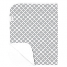 Kushies - Piqué imperméable - Treillis gris
