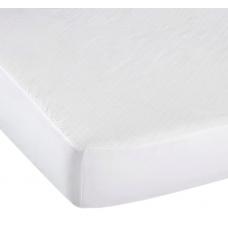 Kushies - Protège-matelas imperméable matelassé pour lit de bébé - Blanc