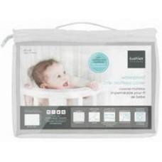 Kushies - Protecteur de matelas imperméable pour lit de bébé - Blanc