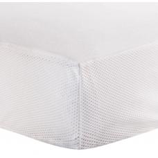 Kushies - Protecteur de matelas imperméable pour lit de bébé - Blanc en ratine