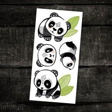 Pico Tatoo - Tatouage pour enfants - Les pandas sympas