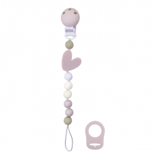 Kushies - Silibeads - Attache-suce en silicone - Coeur