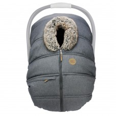 Petit Coulou - Housse protectrice d'hiver - Anthracite / loup