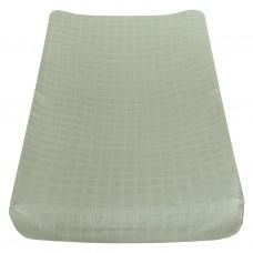 Perlimpinpin - Drap-housse contour en mousseline pour matelas à langer  arqué - Kaki