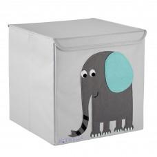 Potwells - Boîte de rangement - Safari - Éléphant