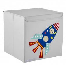 Potwells - Boîte de rangement - Espace - Fusée