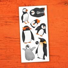 Pico Tatoo - Tatouage pour enfants - Les charmants pingouins