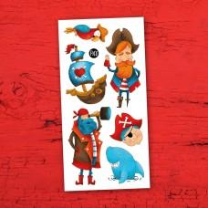 Pico Tatoo - Tatouage pour enfants - Pirates à bâbord