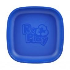 Re-Play - Assiette originale en plastique recyclé - Bleu Marine
