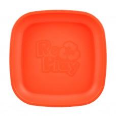 Re-Play - Assiette originale en plastique recyclé - Rouge
