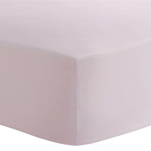 Kushies - Drap contour en flanelle pour matelas de lit de bébé - Rose