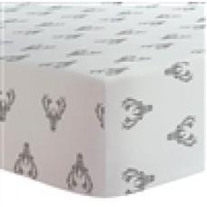 Kushies - Drap contour pour matelas de lit de bébé - Chevreuil
