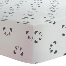 Kushies - Drap contour pour matelas de parc - Panda