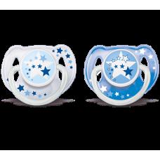 Philips Avent - Suce de nuit - 6 à 18 mois - Bleu et blanc