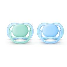 Philips Avent - Suce ultra air - 0 à 6 mois - Bleu et sarcelle