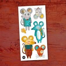 Pico Tatoo - Tatouage pour enfants - Mimi la souris et ses amis
