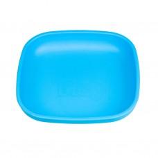 Re-Play - Assiette originale en plastique recyclé - Bleu ciel