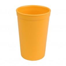 Re-Play - Verre 10oz en plastique recyclé - Jaune soleil