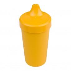 Re-Play - Gobelet coloré anti-fuite en plastique recyclé - Jaune soleil