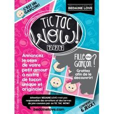 Bédaine Love - TIC TAC WOW garçon