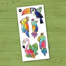 Pico Tatoo - Tatouage pour enfants - Miguel le toucan