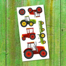 Pico Tatoo - Tatouage pour enfants - Les tracteurs