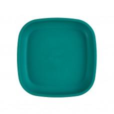 Re-Play - Assiette originale en plastique recyclé - Sarcelle