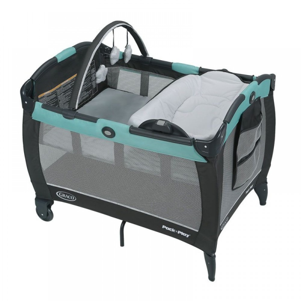 Graco Parc Pack N Play Avec Couchette Double Et Table A Langer