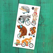Pico Tatoo - Tatouage pour enfants - Promenade à vélo
