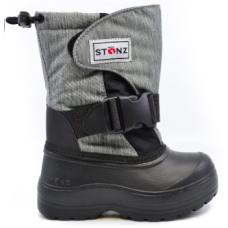 Stonz - Trek - Bottes d'hiver - Noir et gris heather