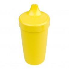 Re-Play - Gobelet coloré anti-fuite en plastique recyclé - Jaune