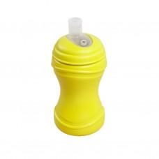 Re-Play - Gobelet à bec souple en plastique recyclé - Jaune