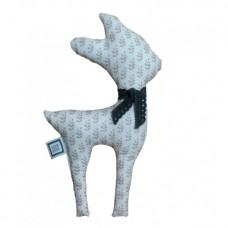 La Libellule - Carrément bébé - Alice - Coussin 13 x8 - Faon