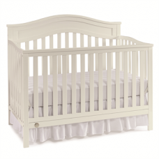 Fisher-Price - Lit de Bébé Transformable - Aubree - Blanc Coquille d'Oeuf