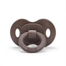 Elodie Details - Sucette en silicone orthodontique en bambou - Chocolat
