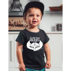 Bédaine Love - T-Shirt humoristique pour enfant - Le plus beau barbu c'est mon père