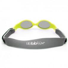 BBLUV - Sölar Mini - Lunettes de soleil évolutives en 2 étapes - Lime 0-24 mois
