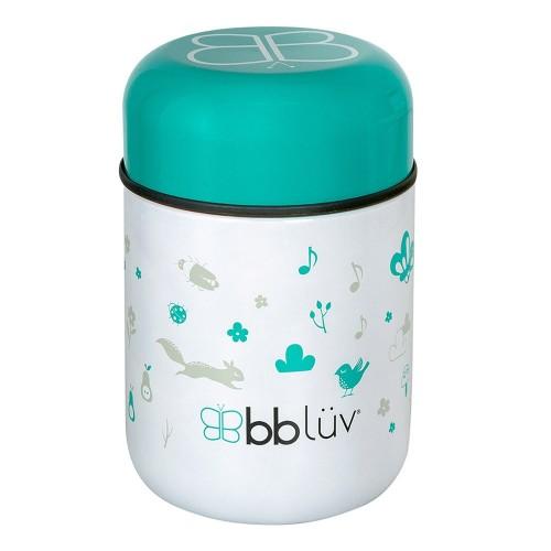 BBLUV - Food - Récipient thermique pour aliments avec cuillère - Aqua