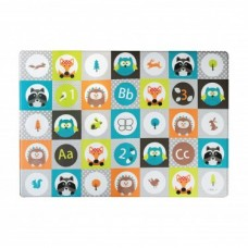 BBLUV - Multi - Tapis de jeu réversible - Forest Tiles